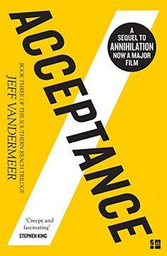 portada The Southern Reach Trilogy. Acceptance - Book 3 (libro en Inglés)