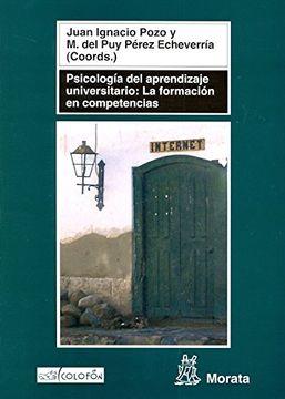 portada Psicologia del Aprendizaje Universitario
