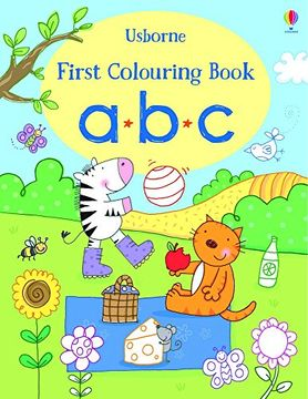 portada First Colouring Book abc (First Colouring Books) (libro en inglés)
