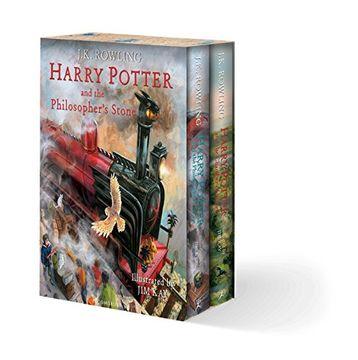 portada Harry Potter Illustrated box set