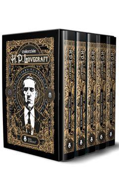 portada Cuentos Completos de H. P. Lovecraft (5 Volumenes)