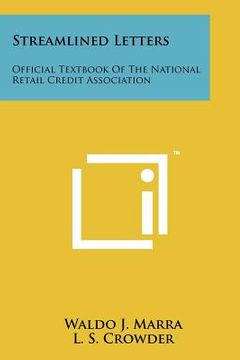 portada streamlined letters: official textbook of the national retail credit association
