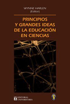 portada Principios y Grandes Ideas de la Educacion en Ciencias