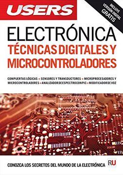 portada Electrónica: técnicas digitales y microcontroladores (Spanish Edition)