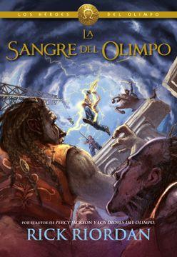 portada Héroes del Olimpo 5. La Sangre del Olimpo (Los Héroes del Olimpo)