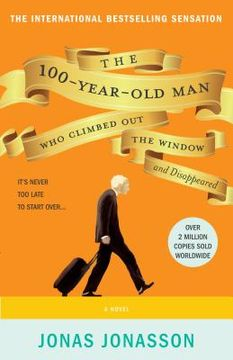 portada The 100 year old man who climbed out the window and disappeared