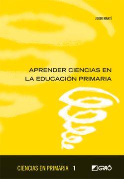 portada Aprender Ciencias en Educacion Primaria