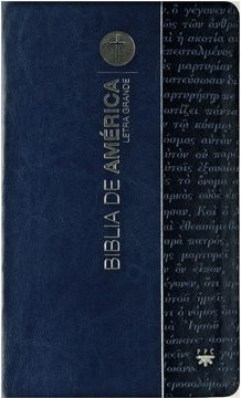 portada Biblia de América. Legra Grande Azul [Flexible]