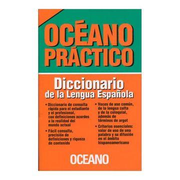 portada Océano Práctico. Diccionario de la Lengua Española