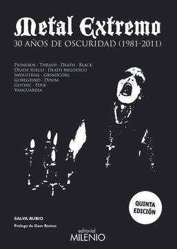 portada Metal Extremo. 30 Años de Oscuridad (1981-2011)