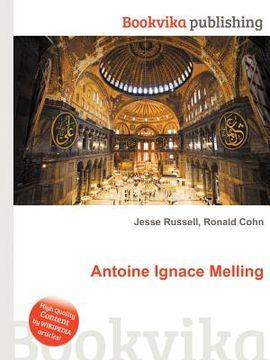 portada Antoine Ignace Melling (libro en Inglés)