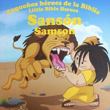 portada Sansón Serie: Pequeños Héroes de la Biblia
