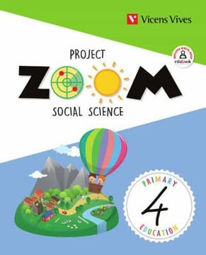 portada Social Science 4 Andalucia (Zoom) (libro en Inglés)