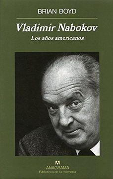 portada Vladimir Nabokov: Los Años Americanos