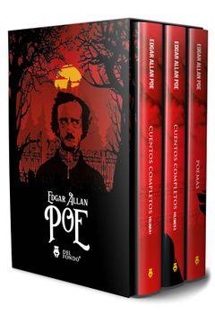 portada Cuentos y Poemas Completos de poe (3 Volumenes)