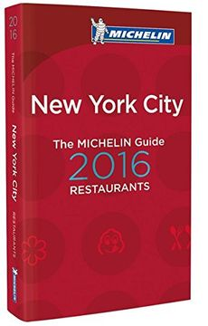 portada The Michelin Guide new York 2016 (la Guía Michelin) (libro en Francés)