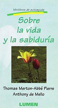 portada Sobre la Vida y la Sabiduria