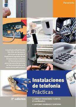 portada Instalaciones de Telefonía. Prácticas (2ª Ed. )