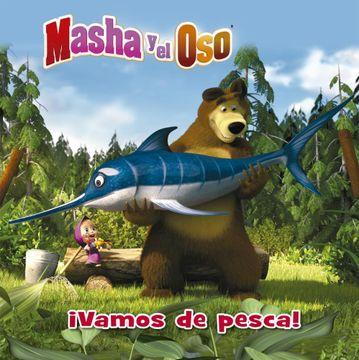 portada Vamos de Pesca - Masha y el oso