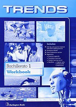 portada Trends 1. Workbook. Bachillerato 1 - Edition 2014 - 9789963510863