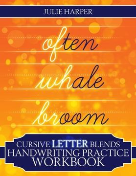 portada Cursive Letter Blends Handwriting Practice Workbook: Learn to Handwrite