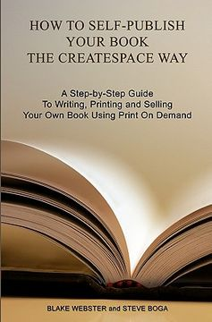 portada how to self-publish your book the createspace way