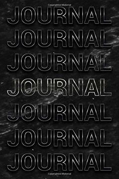portada Journal: Black Marble & Silver Softcover Note Book Diary   Lined Writing Journal Notebook   Pocket Sized   200 Pages   Journal Books (libro en inglés)