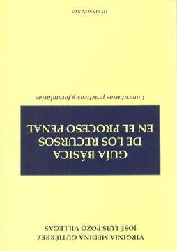 portada Guía básica de los recursos en el proceso penal