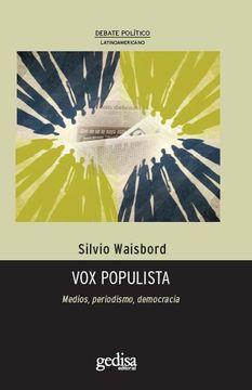 portada Vox Populista: Medios, Periodismo, Democracia