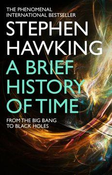 portada Brief History of Time: From the big Bang to Black Holes (libro en inglés)