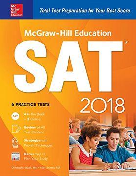 portada McGraw-Hill Education SAT 2018