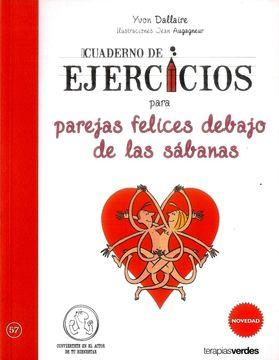 portada Cuaderno de Ejercicios Para Parejas Felices Debajo de las Sábanas