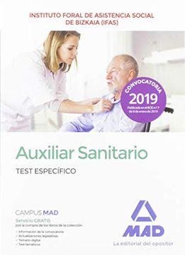 portada Auxiliar Sanitario del Instituto Foral de Asistencia Social de Bizkaia (Ifas). Test Especifico