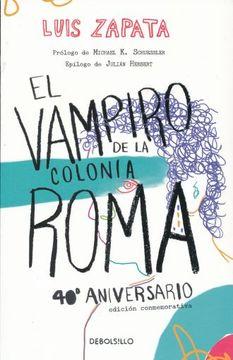 portada Vampiro de la Colonia Roma, el