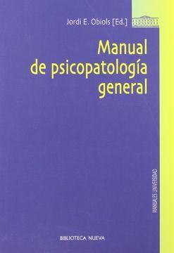 portada Manual de Psicopatología General