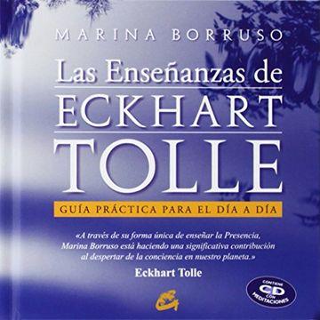 portada Las Ensenanzas de Eckhart Tolle. Libro + cd Audio