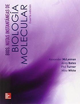 portada Bios. Notas Instantaneas de Biologia Molecular