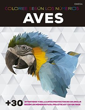portada Aves. Coloree Segun los Numeros