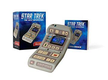portada Star Trek: Light-And-Sound Tricorder (Miniature Editions) (libro en Inglés)