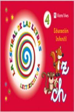 portada La Espiral De Las Letras. Lectoescritura 4