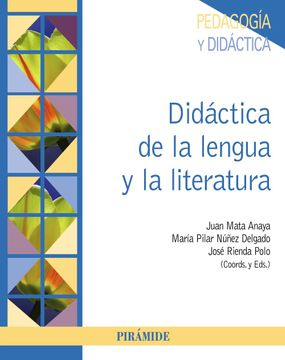 portada Didáctica de la Lengua y la Literatura