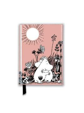 portada Moomin Love (Foiled Pocket Journal) (Flame Tree Pocket Books) (libro en Inglés)