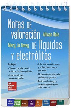 portada Notas de Valoracion de Liquidos y Electrolitos