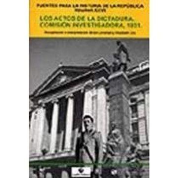 portada Actos de la Dictadura, Los. Comisión Investigadora, 1931