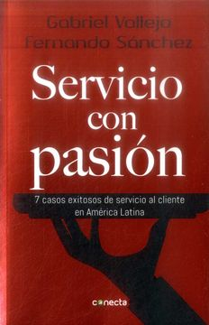 portada SERVICIO CON PASION (libro en Espanol)