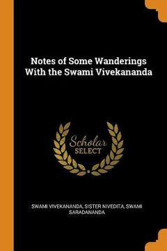 portada Notes of Some Wanderings With the Swami Vivekananda (libro en inglés)