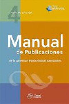 portada Manual de Publicaciones de la American Psychological Association. Manual Apa. 4ª Edición