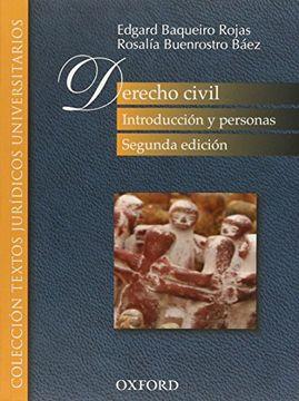 portada Derecho Civil: Introduccion y Personas