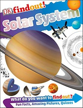 portada Dkfindout! Solar System (libro en Inglés)