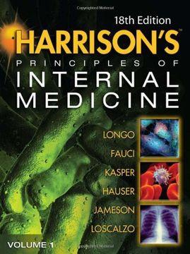 portada Harrison's Principles of Internal Medicine: Volumes 1 and 2, 18Th Edition (libro en Inglés)
